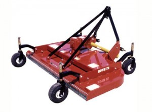 Bush Hog Mower Finishing