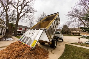 mulch load volume scanner